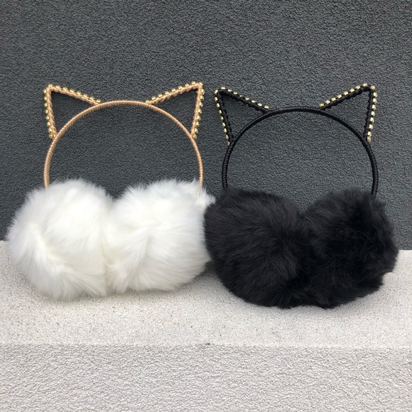 Evolving Always Accessories - New Earmuffs With Cat Ears